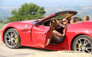 test drive Ferrari California