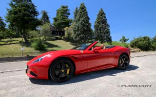 test drive Ferrari California T